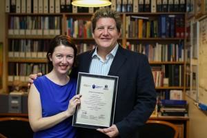 Dr. Engelina Groenewald and Prof. David Castle