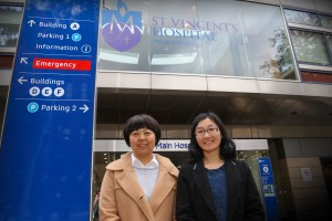 Dr. Zhang Laing and Dr. Wang Xiaoming