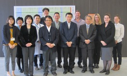 Researchers in Tokyo